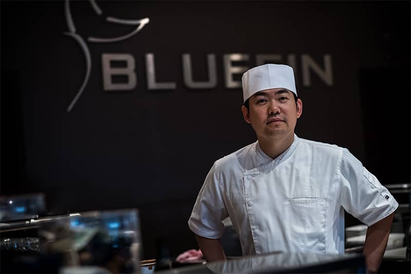 Master Chef Yong Kim at Bluefin